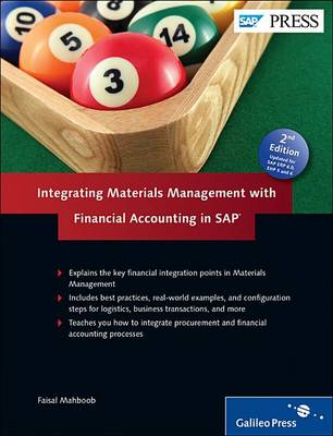 Integrating Materials Management with Financial Accounting in SAP (Hardback)