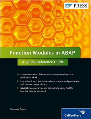 Function Modules in ABAP: a Quick Reference Guide (Hardback)