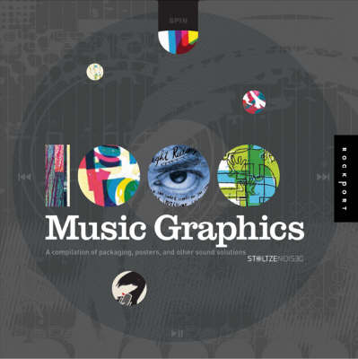 1,000 Music Graphics: A Compilation of Packaging, Posters, and Other Sound Solutions - 1000 S. (Hardback)