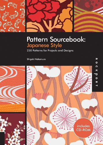 Japanese Style: 250 Patterns for Projects and Designs - Pattern Sourcebook (Paperback)
