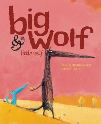 Big Wolf and Little Wolf: The Little Leaf That Wouldn't Fall (Hardback)