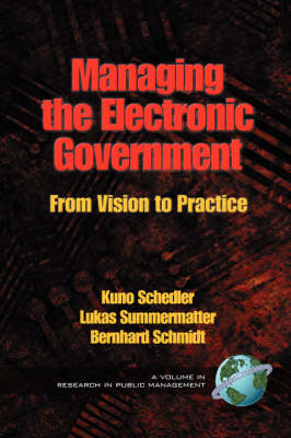 Managing the Electronic Government: From Vision to Practice - Research in Public Management Series (Paperback)