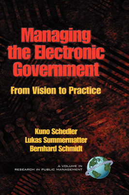 Managing the Electronic Government: From Vision to Practice - Research in Public Management Series (Hardback)
