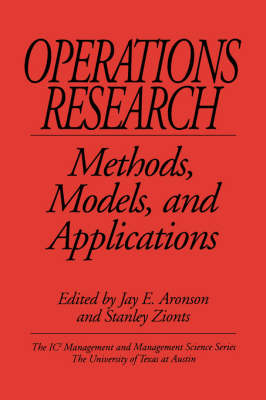 Operations Research: Methods, Models, and Applications (Paperback)