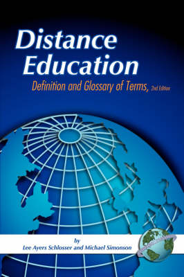 Distance Education: Definition and Glossary of Terms (Paperback)