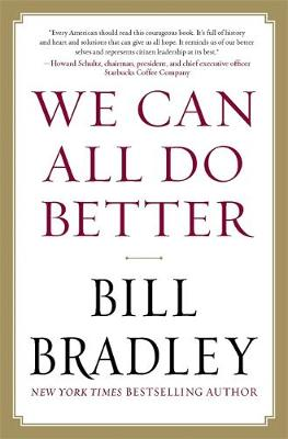 We Can All Do Better (Hardback)