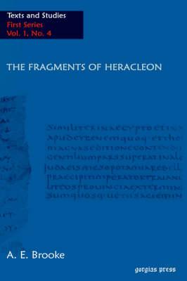 The Fragments of Heracleon (Hardback)