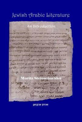 Jewish Arabic Literature: An Introduction (Hardback)