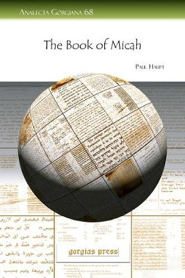 The Book of Micah (Paperback)