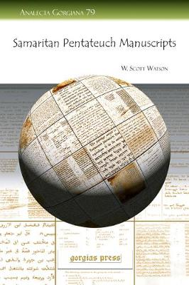 Samaritan Pentateuch Manuscripts (Paperback)