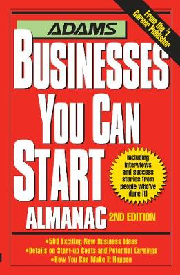 Adams Businesses You Can Start Almanac (Paperback)