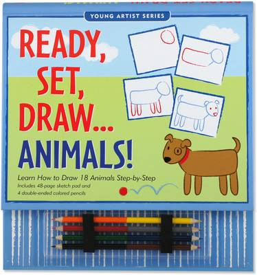 Ready, Set, Draw...Animals! (Spiral bound)