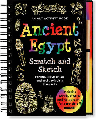 Scratch & Sketch Ancient Egypt (Hardback)