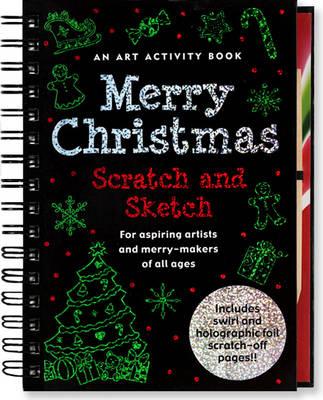 Merry Christmas Scratch & Sketch (Spiral bound)