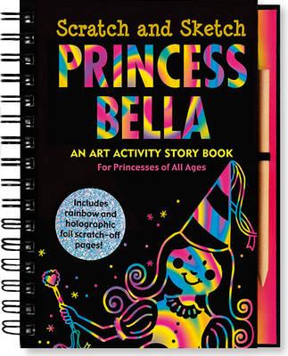 Sketch and Scratch Princess (Spiral bound)