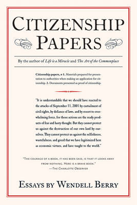 Citizenship Papers: Essays (Paperback)