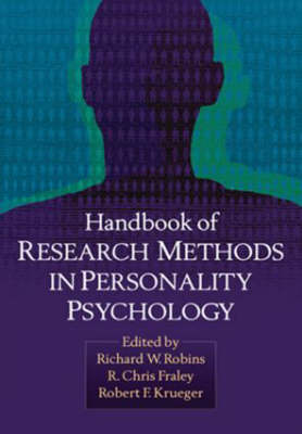 Handbook of Research Methods in Personality Psychology (Hardback)