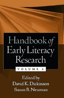 Handbook of Early Literacy Research, Volume 2 (Hardback)
