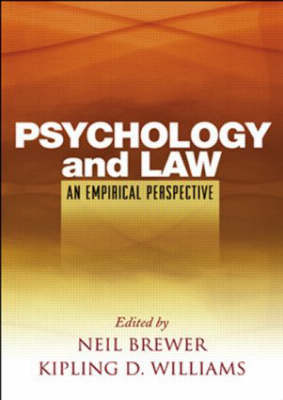 Psychology and Law: An Empirical Perspective (Paperback)