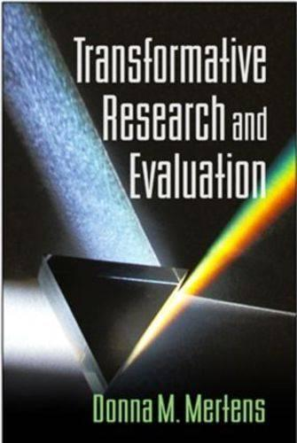 Transformative Research and Evaluation (Hardback)