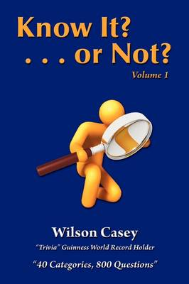 Know It? or Not? Vol. 1 (Paperback)