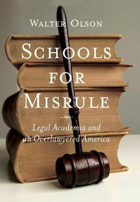 Schools for Misrule: Legal Academia and an Overlawyered America (Hardback)