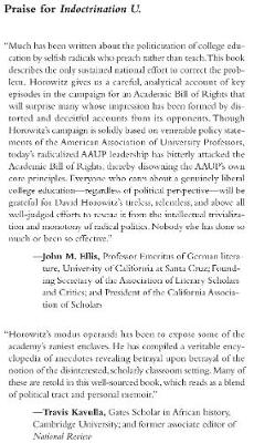 Indoctrination U: The Lefts War Against Academic Freedom (Paperback)