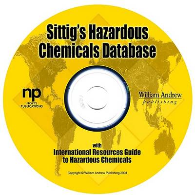 Sittig's Hazardous Chemicals Database (Hardback)