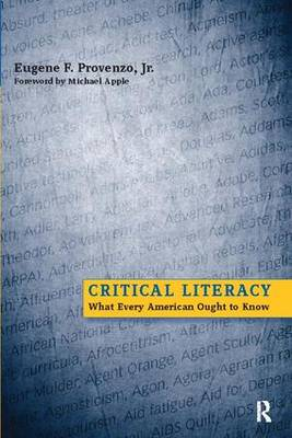 Critical Literacy: What Every American Needs to Know (Paperback)