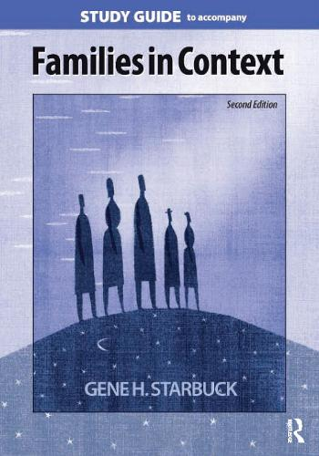 Families in Context Study Guide (Paperback)