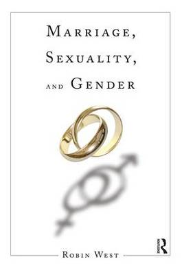 Marriage, Sexuality, and Gender (Paperback)