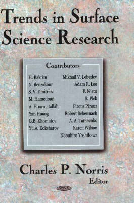 Trends in Surface Science Research (Hardback)
