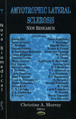 Amyotrophic Lateral Sclerosis: New Research (Hardback)