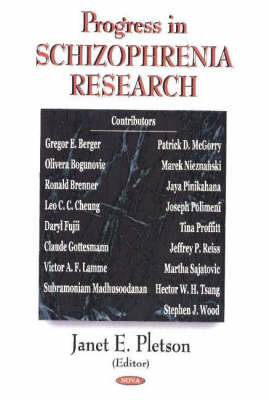 Progress in Schizophrenia Research (Hardback)