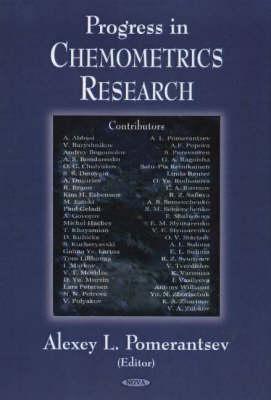 Progress in Chemometrics Research (Hardback)