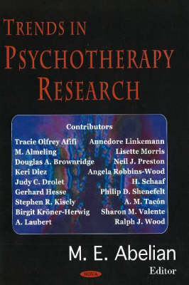 Trends in Psychotherapy Research (Hardback)