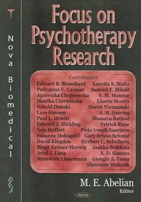 Focus on Psychotherapy Research (Hardback)