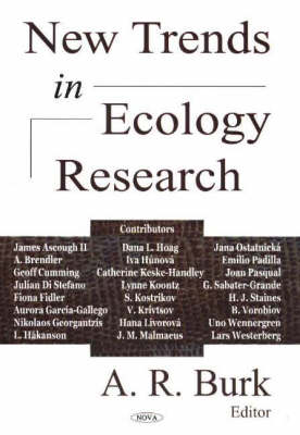 New Trends in Ecology Research (Hardback)
