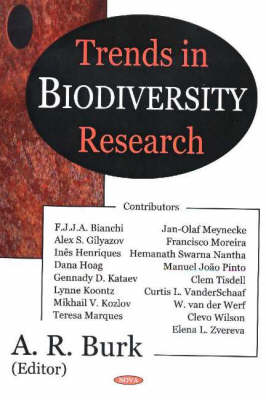 Trends in Biodiversity Research (Hardback)