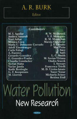 Water Pollution: New Research (Hardback)