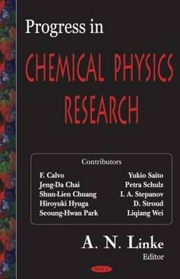 Progress in Chemical Physics Research (Hardback)