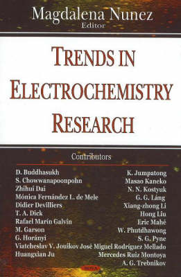 Trends in Electrochemistry Research (Hardback)