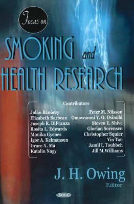 Focus on Smoking & Health Research (Hardback)