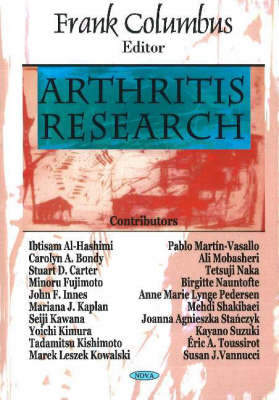 Arthritis Research (Paperback)
