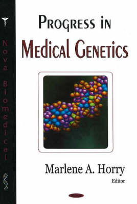 Progress in Medical Genetics (Hardback)