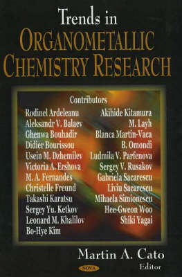 Trends in Organometallic Chemistry Research (Hardback)