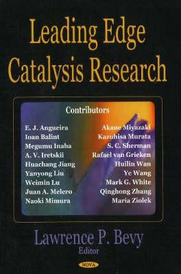 Leading Edge Catalysis Research (Hardback)