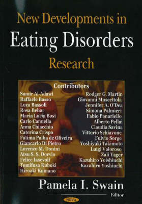 New Developments in Eating Disorders Research (Hardback)