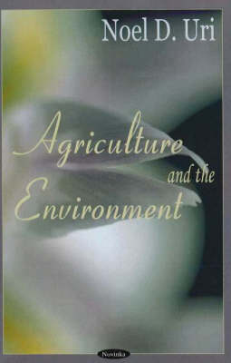 Agriculture & the Environment (Hardback)