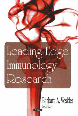 Leading-Edge Immunology Research (Hardback)
